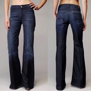 7 For All Mankind Ginger Flare Leg Jean Sz 30 x 34